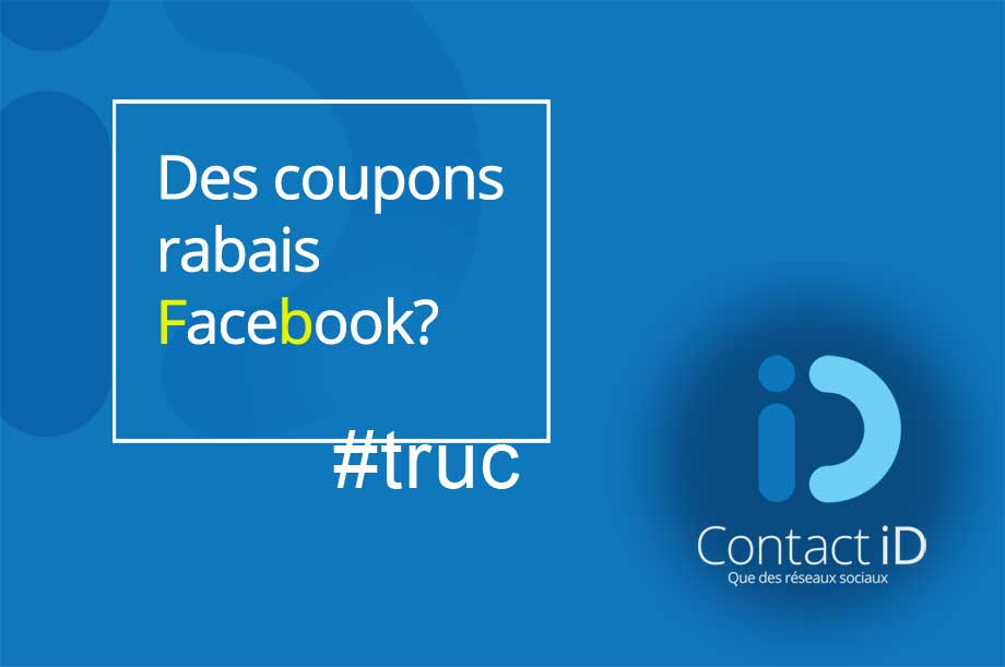 offre coupon facebook